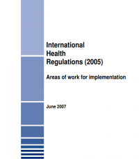 International Health Regulations (2005): Areas of work for implementation