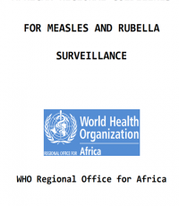 WHO African Regional measles and rubella surveillance guidelines