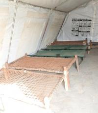 At the Chumbuni Cholera Treatment Centre, Dr Kamwa witnessed empty beds, a positive sign of Cholera control