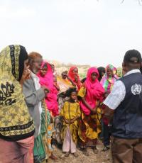 Social mobilization activities are part and parcel of the response.  WHO and UNICEF risk communication officers regularly meet with communities to ensure that AWD messages are well understood.