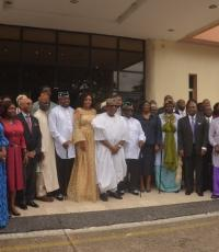 Dignitaries at the Cross River State Health summit