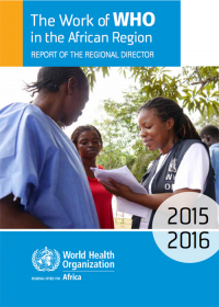 The Work of WHO in the African Region cover image