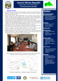 Report for the VDPV2 Response  N°4 from June 22 to 28, 2019