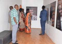 Dr Moeti Matshidiso visiting the Kigali Memorial Center