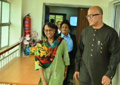 Dr Moeti visits Nigeria Center for Disease Control