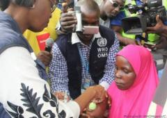Dr Moeti flags off a Polio & Seasonal Malaria Chemoprevention (SMC) integrated