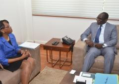 Dr Matshidiso Moeti visits Senegal - March 2018