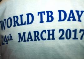 Tshirt used as promotional material for WTBD 2017