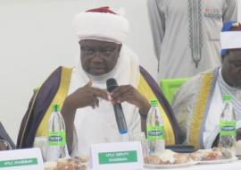 Emir of Argungu speaking on behalf of the traditional instituion