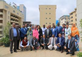 "01	Group picture of participants of the ""Regional Expert Meeting on Medicine Regulatory Harmonization Initiative"""