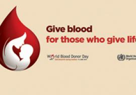 World Blood Donor Day 2014