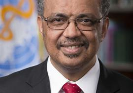 Dr Tedros Adhanom Ghebreyesus- Director General WHO