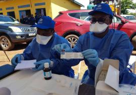 WHO supports Ebola vaccination of high risk populations in the Democratic Republic of the Congo