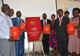 Launch of the WHO-supported national guidelines for cardiovascular diseases during the World No-Tobacco Day