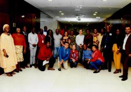 WCO Angola staff members group photo