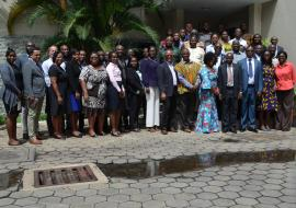 Group photograph of Participants of the NAPHS meeting