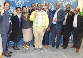 PMO Training - WCO Botswana team