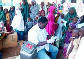 Reactive vaccination in Danja LGA of Katsina