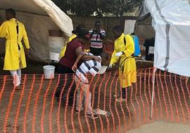 WHO is scaling up response to a fast-moving cholera outbreak in Zimbabwe's capital
