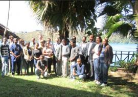 Public Health Emergency reporting training participants