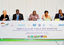 Cross-border table top exercise