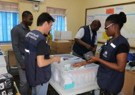South Sudan vaccinates health workers against Ebola