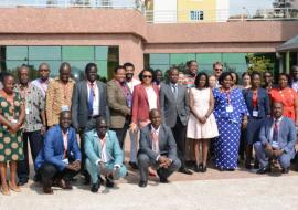 Group photo Cross Border Meeting on Health Security