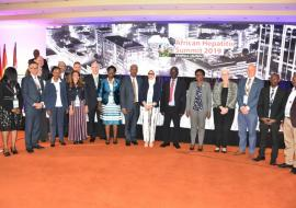 High level delegation at the Hepatitis Summit