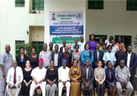 Group Photograph during a 2-day workshop on needle and syringe exchange programme guideline finalization