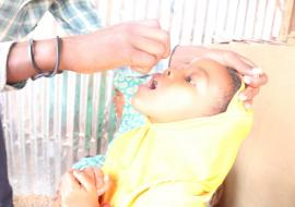 mOPV2 vaccination in Fafan zone of Somali region