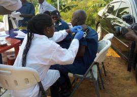 Burundi launches ebola vaccination campaign for health and front-line workers
