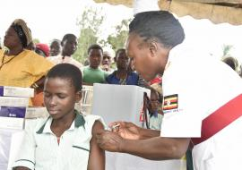 More than 18 million children in Uganda to be immunized  against measles, rubella and polio in mass campaign
