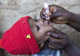 Three African countries halt polio outbreaks