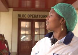 Delivery in an Ebola treatment centre