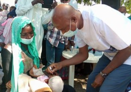 Over 3.3 million children vaccinated in Chad in large-scale polio campaign