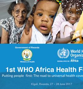 1st WHO Africa Health Forum