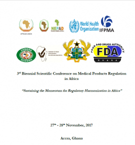Third Biennial Scientific Conference on Medical Products Regulation in Africa