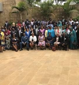 The joint annual review and planning meeting of Reproductive, Maternal Newborn, Child and Adolescent Health and Nutrition of Programme Managers of WHO African Region meeting in Kigali from 7-9 November 2018.