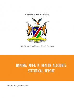 Namibia 2014/15 Health Accounts Statistical Report
