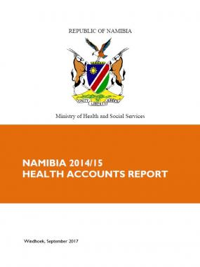 Namibia 2014/15 Health Accounts Report