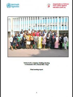 Report - WHO-OAFLA Relation Building Meeting, 7-8 December 2016, Brazzaville, Congo
