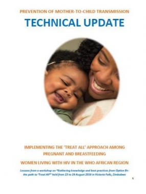 Prevention of mother-to-child transmission - Technical update
