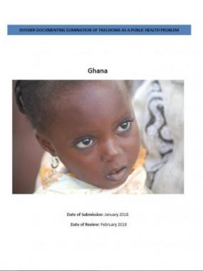 Dossier Document for Elimination of Trachoma as a public health problem