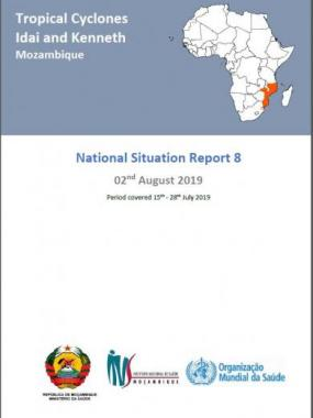Tropical Cyclones Idai and Kenneth Mozambique - National Situation Report 8