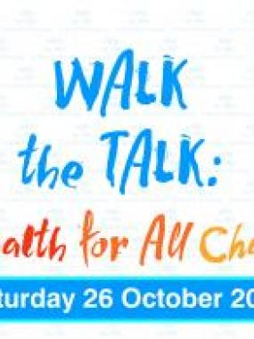 Walk the Talk - The Health For All Challenge 2019