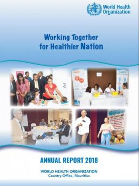 WHO Country Office Mauritius Annual Report 2018