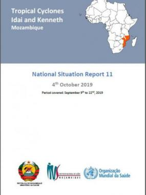 Tropical Cyclones Idai and Kenneth Mozambique - National Situation Report 11