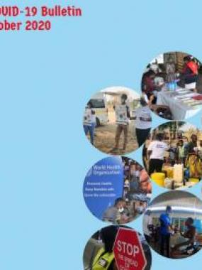 WHO Namibia COVID-19 Bulletin: September and October 2020