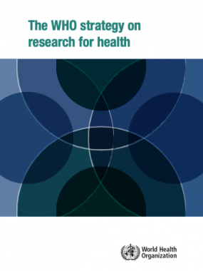 WHO Strategy on research for health