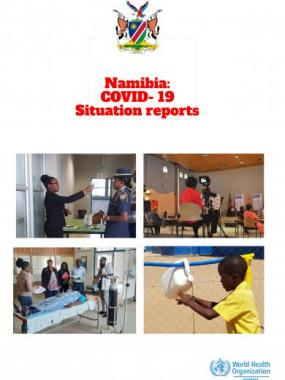 Namibia COVID-19 Situation Report from Number 212
